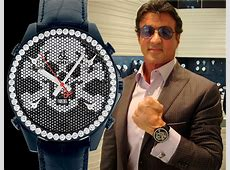 Watches of Sylvester Stallone