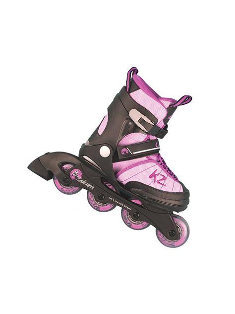 inline skates kinder k2 kinder inline skates cadence rosa 29 34