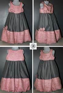 multicolor roses robe boule enfant modèle unique luxe tweed soie