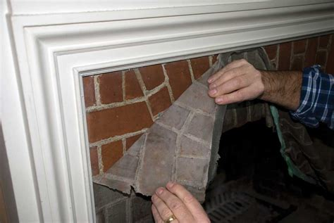 how to clean a fireplace paint quot n quot peel fireplace cleaner chimneysaver