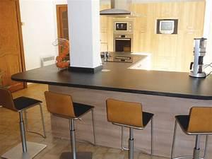 Table De Travail Cuisine : table de travail cuisine great modle buffet de cuisine ~ Nature-et-papiers.com Idées de Décoration