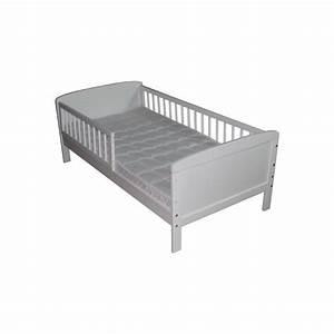 Barriere Lit Superposé : lit junior blanc 160 cm x 70 cm avec barri res www ~ Premium-room.com Idées de Décoration