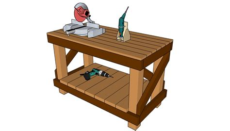 Workbench Plans Free  Myoutdoorplans  Free Woodworking