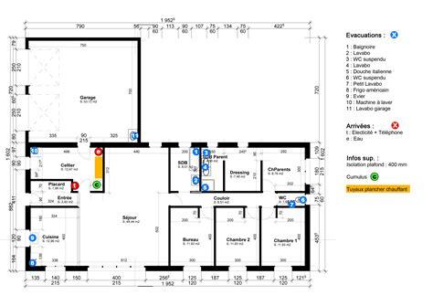 plan de maison en u beautiful amazing fabuleux exemple de plan de maison plan plomberie maison exemple de plan de