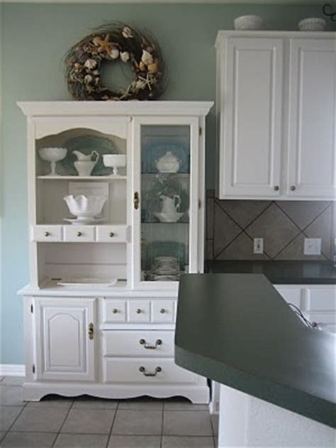 small kitchen hutch images  pinterest kitchen