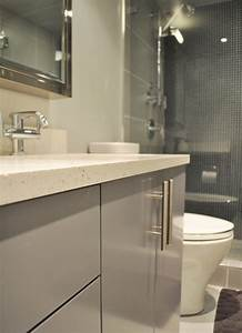 Did you use Ikea kitchen cabinets for the bathroom vanity