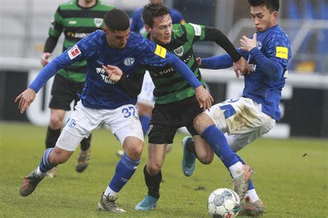 Der sc preußen 06 e. Geheimtest auf Schalke: Preußen Münster verliert 0:2 ...