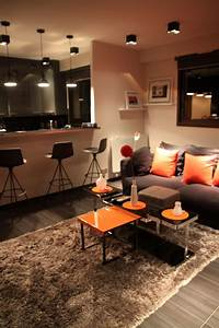 photos deco idees decoration pour un salon de 10 a 20m2 With plan de maison 2 pieces 13 deco appartement marocain