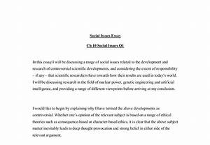 Essay About Social Problem Personal Narrative Essays For College  Essay Social Problem Among Youth Activities Literary Research Paper