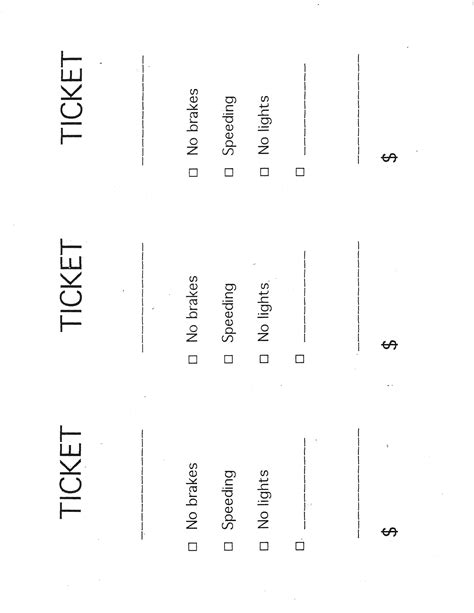 images  blank police ticket template leseriailcom