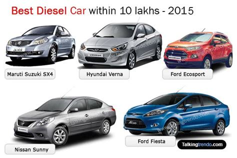 Best Diesel Car Within 10 Lakhs Available In India