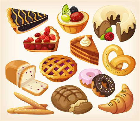 Pastry Clipart Pastry Clipart Pencil And In Color Pastry Clipart
