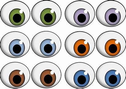 Eyes Printable Clip Crafts Eye Templates Printablee