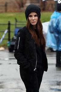 Sandra Bullock sur le tournage du film 'Ocean's Eight' un ...