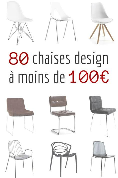 cuisine gris et bois chaise design pas cher 80 chaises design à moins de 100