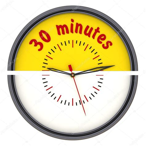 30 Minutes On The Clock — Stock Photo © Waldemarus #65089447