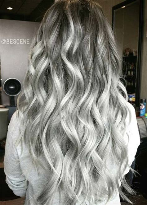 Charcoal Hair Dye by 85 Silver Hair Color Ideas And Tips For Dyeing