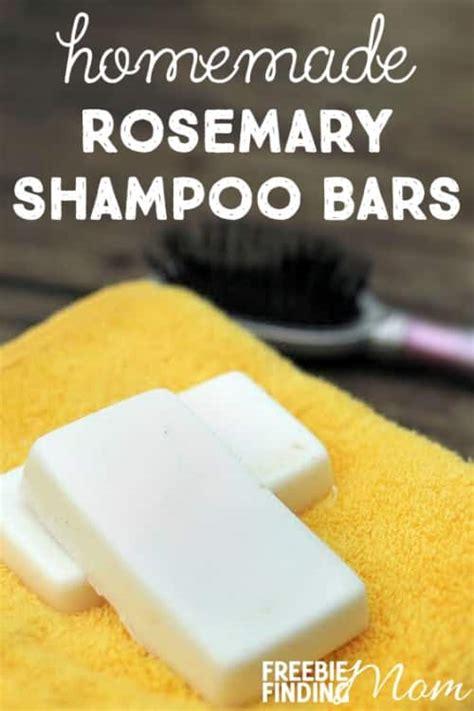 homemade shampoo bars rosemary shampoo bars