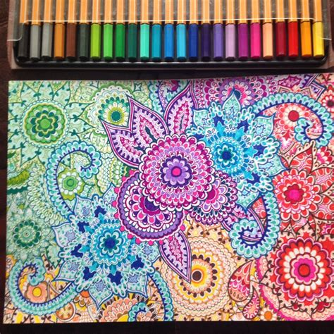 image result for colourful henna patterns on paper color
