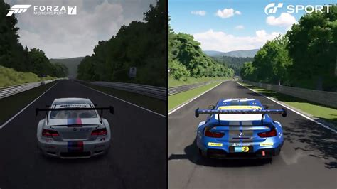 Gran Turismo Sport 7 by This Is How Much Forza Motorsport 7 And Gran Turismo Sport