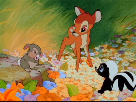 bambi background image  android cartoons wallpapers