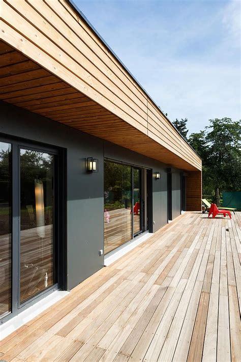 maison design en bois booa maisons ossatures bois design modulables maison biscarosse platelage