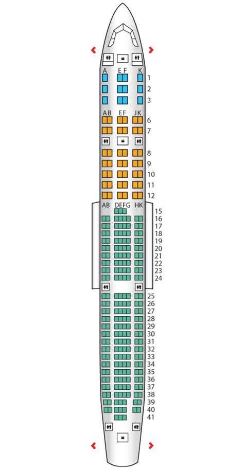 airbus a340 300 stoelindeling business class a340 500 emirates seat maps reviews