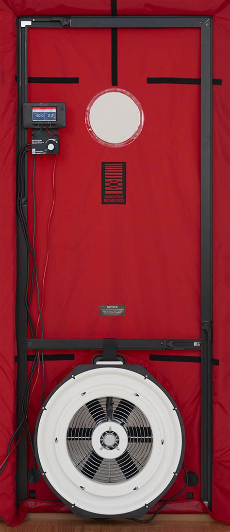 energy conservatory blower door duct blaster