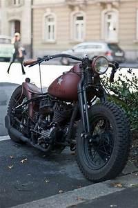 Moto Style Harley : retro ww2 harley bobber motorcycle pinterest kind of bikes and colour ~ Medecine-chirurgie-esthetiques.com Avis de Voitures