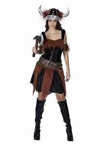Adult Viking Lady Costume