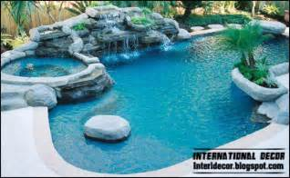 Florida Tile Black Natural by Interior Decor Idea Gorgeous Outdoor Swimming Pools