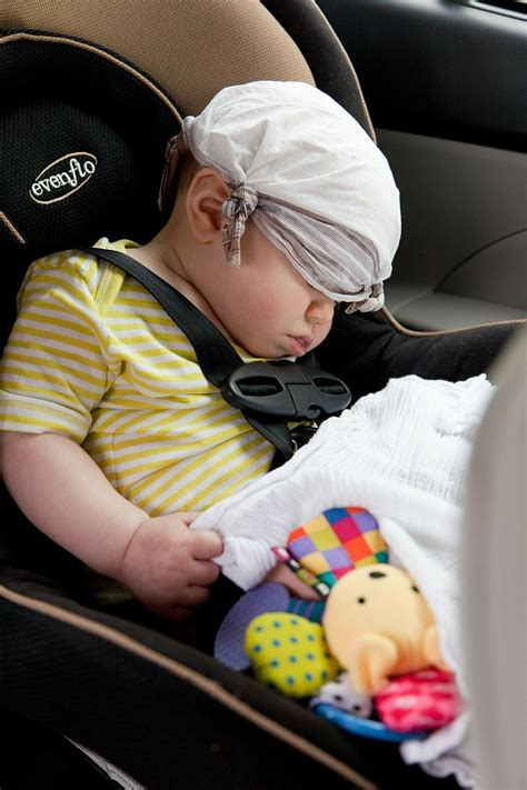 traveling with a newborn to eight month baby