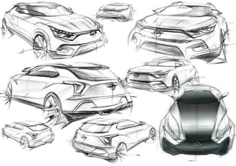 226 Best Images About Exterior Car Design Sketches On