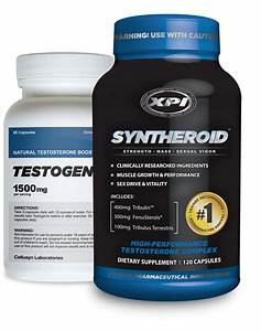Testosterone Supplements Top Sellers Kit Syntheroid And Testogenix