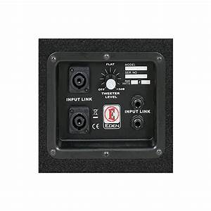 Eden D210xst Bass Cabinet  500 Watts  2x10 U0026quot