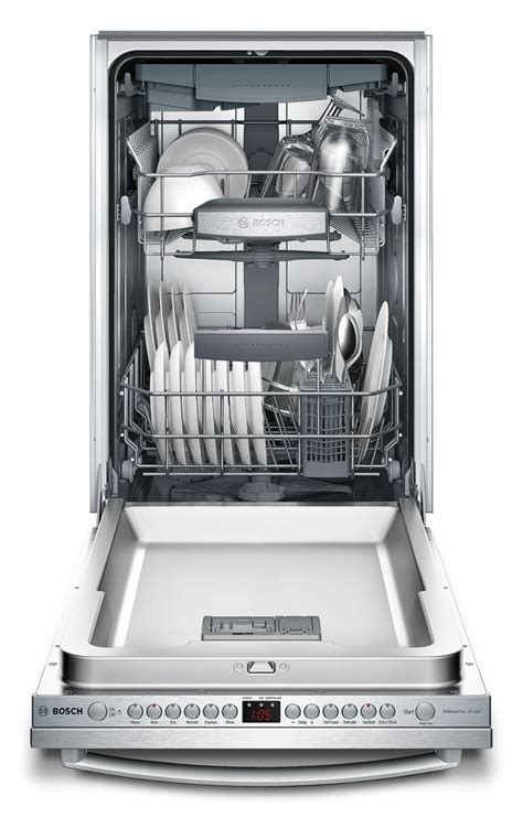 Bar Dishwasher by Bosch 18 Quot 800 Series Bar Handle Dishwasher Stainless