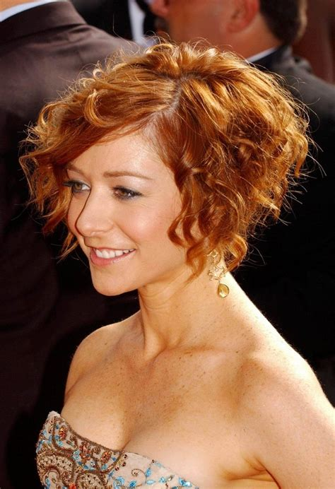 Curl Bob Hairstyle by Curly Bob Hairstyle Copper Colored Cut From
