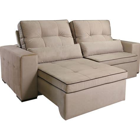 sofa de veludo sof 225 2 lugares tecido veludo retr 225 til e reclin 225 vel