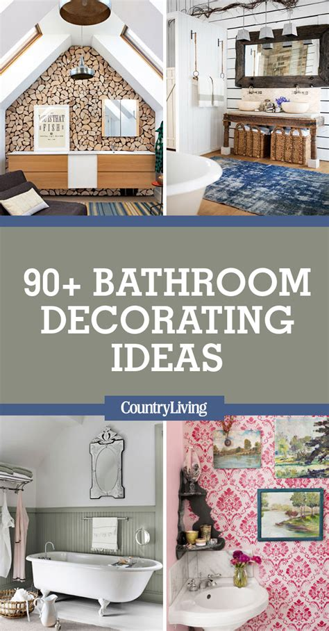 90 Best Bathroom Decorating Ideas  Decor & Design