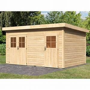 Gartenhaus 4 X 3 : holz gartenhaus glostrup mit mittelwand natur b x t 420 cm x 270 cm kaufen bei obi ~ Orissabook.com Haus und Dekorationen