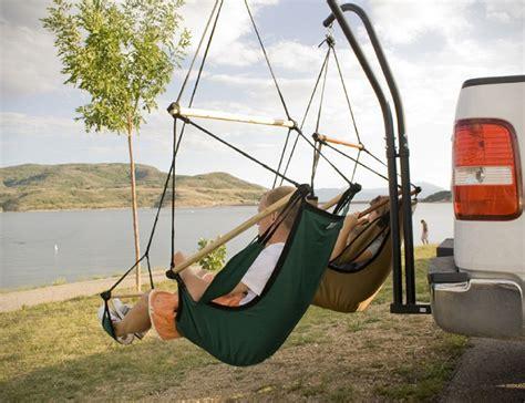 hammaka trailer hitch hammock chair stand trailer hitch stand and hammaka chair combo 187 gadget flow