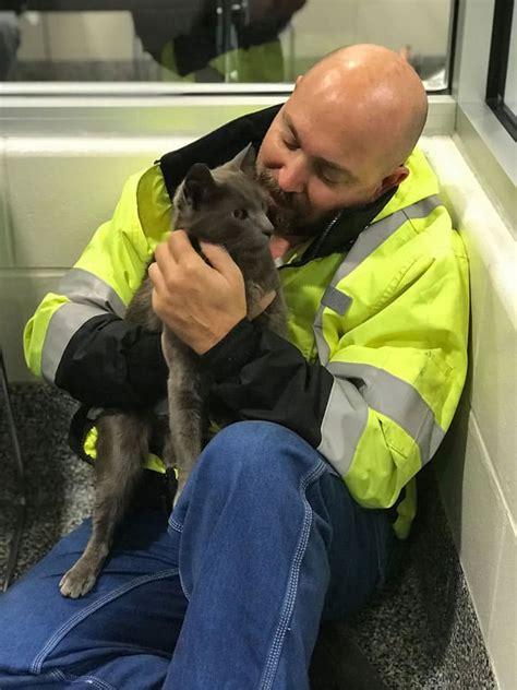 truck driver breaks  tears    reunited