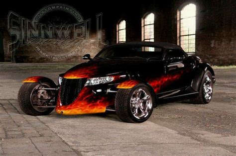 Ideas for my new Street Rod : Nice flames | cars | Pinterest