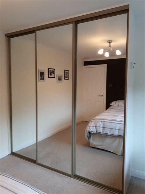 mirrored wardrobe sliding doors  bishopbriggs glasgow