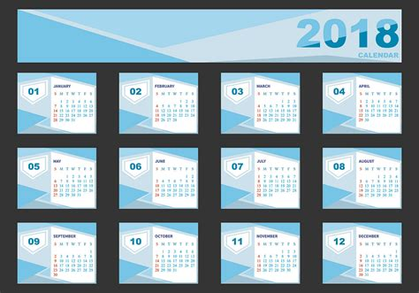 design template  desk calendar
