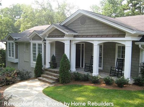 beautiful ranch house addition plans ranch home porches add appeal and comfort