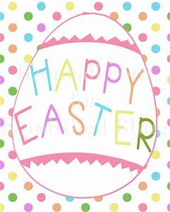 Happy Easter Printable: A perfect, festive addition to ...