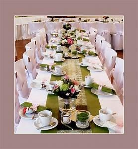 Tischdeko Konfirmation Grün : deko in rosa gr n zur hochzeit kommunion konfirmation tischdekoration ~ Eleganceandgraceweddings.com Haus und Dekorationen