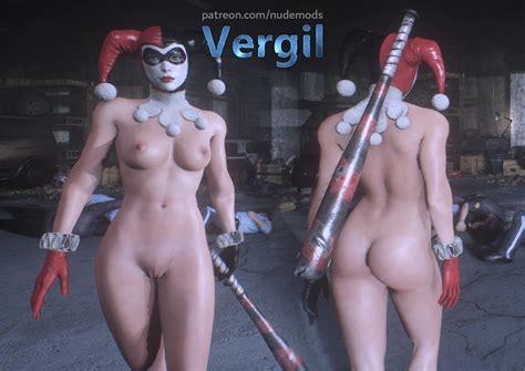 harley quinn classic nude adult gaming loverslab