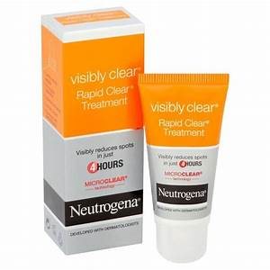 Neutrogena Visibly Clear Waschgel : k p neutrogena visibly clear rapid clear treatment 15 ml p ~ Avissmed.com Haus und Dekorationen